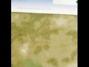1000D najlona Oxford vodootporna kamuflaža PU obložena tkanina