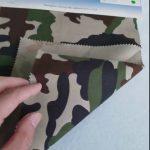 Kamuflažni uzorak 80/20 pamučne poliesterske trake za vojnu uniformu
