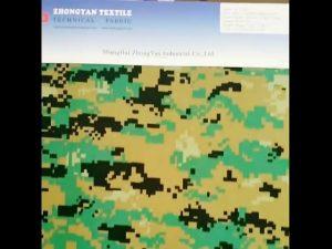 Digitalna šuma kamuflaža tiskana 1000d najlon sličan cordura vodootporan Oxford tkanina
